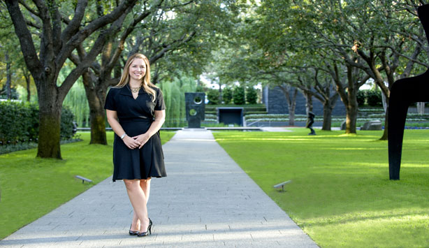 Assistant Curator at the Nasher Sculpture Center  Leigh Arnold