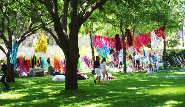 Nasher XChange 10+ Day celebrates ten years in garden full of activities