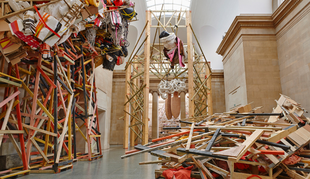 Phyllida Barlow, Duveen Commission, Tate Britain, London